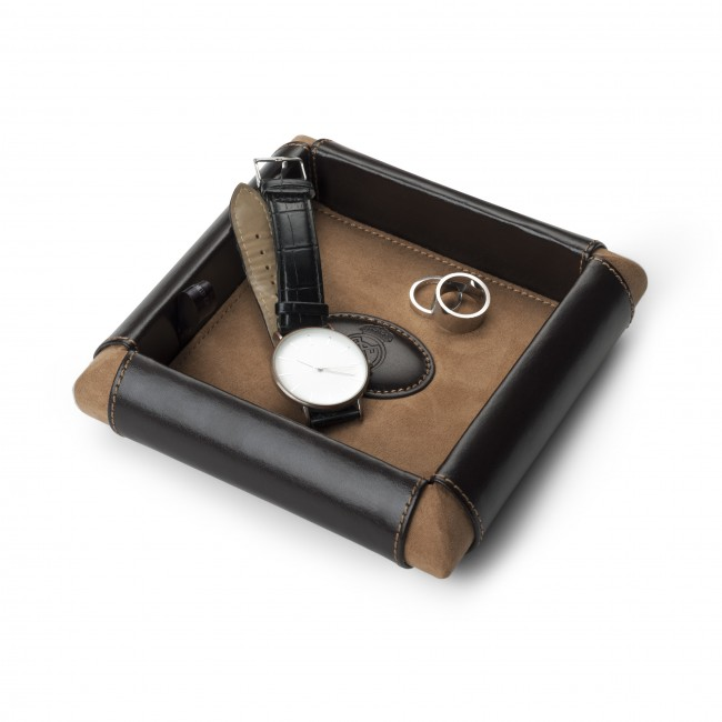 Throw all valet/tray in Leather