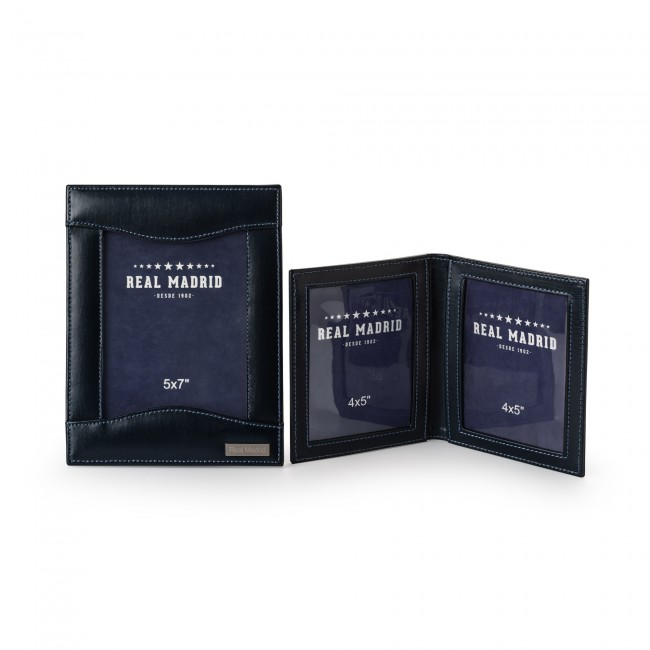 LEATHER PHOTO FRAME AND PHOTO WALLET SET