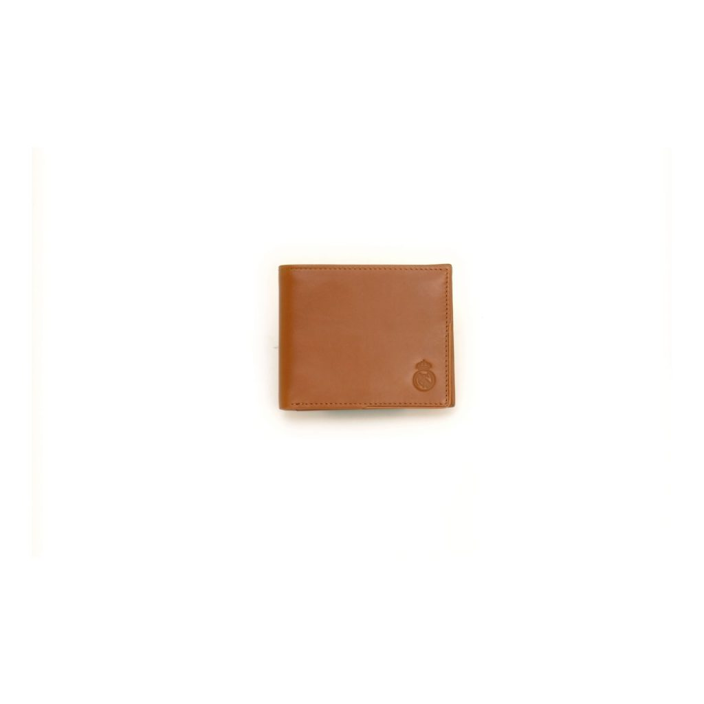 MENS GENUINE LEATHER WALLET WITH MATCHING CARD CASE CAMEL BROWN